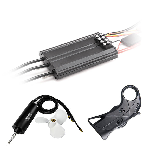 HGLTECH Electric hydrofoil kits 65162 motor 7inch propeller 300A ESC WH4 remote controller