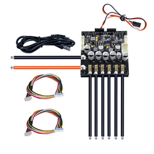Dual FSESC6.6 Based upon VESC6 with Aluminum Heatsink Mini Size |HGLTECH ESC