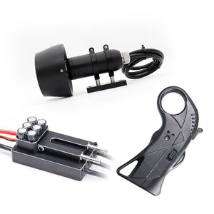 HGLTECH Electric Surfboard kits Underwater Thruster Motor TH80 200AESC WH4 remote control