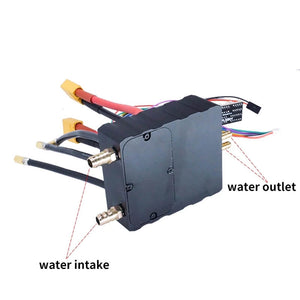 Water cooled ESC 200A