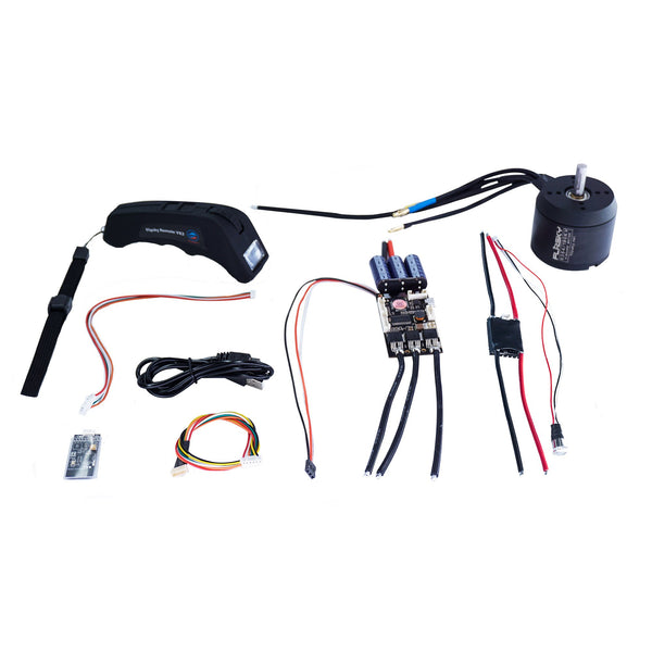 Group S10 Electric Skateboard Kit (Includes FSESC4.12  and BLDC 6354 Motors) (4273913266311)