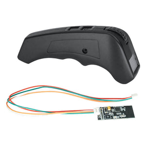 2.4G Screen Remote VX2 Transmitter for Electric Skateboard Ebike Eboat Compatible with VESC
