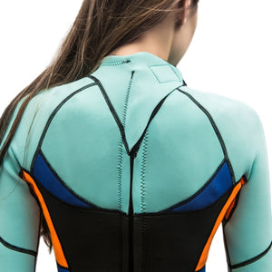 Premium 1.5mm Neoprene Women Full Body Wetsuit | For Surfing Snorkeling Scuba Diving Thermal