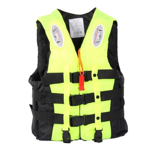 Outdoor Survival Suit Polyester Life Jacket for Adult Children