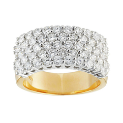 Round Brilliant Diamond Band
