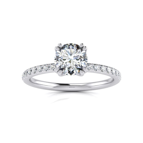 Emilie Double Claw - 0.80ct