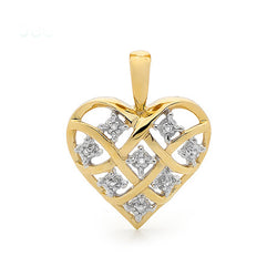 Dreamweaver Diamond Heart Pendant