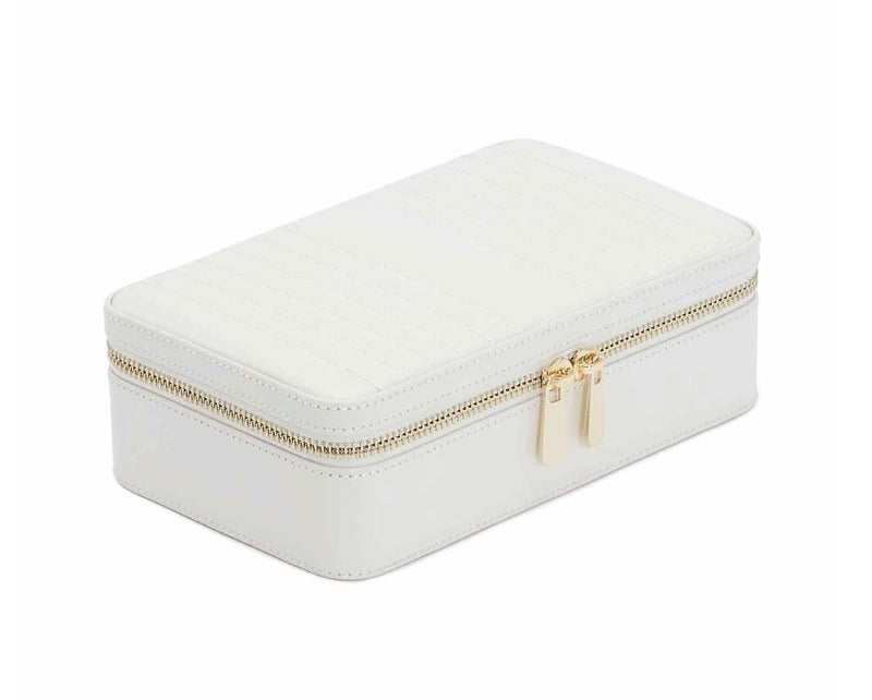 WOLF Maria Medium Zip Case - White