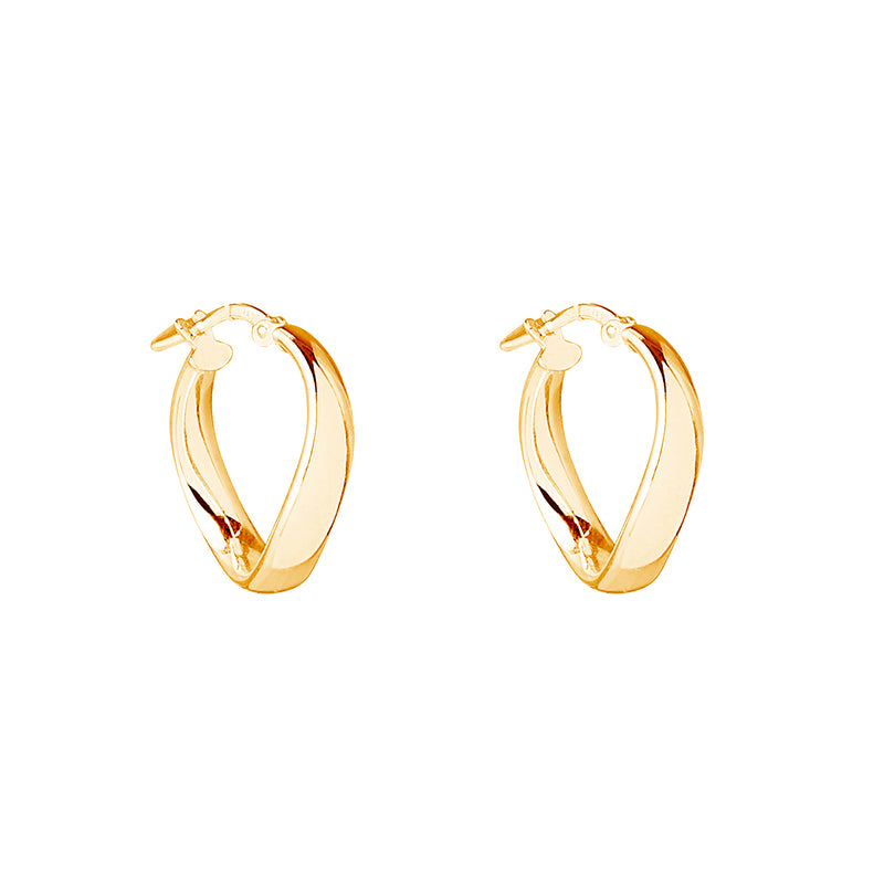 Najo Eddy Hoop Earring (Yellow)