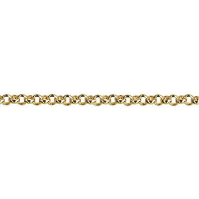 9ct Yellow Gold Belcher Chain (B2)
