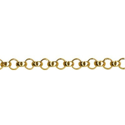 9ct Yellow Gold Belcher Chain (B3)