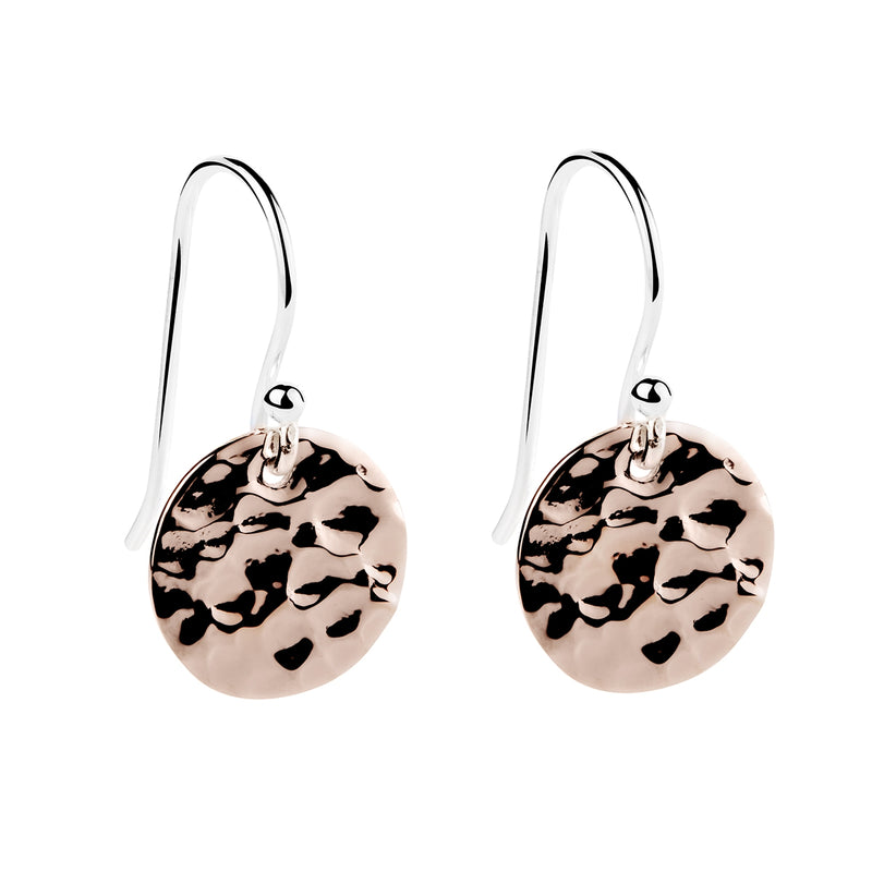 Najo Rabble Earring (2-tone Rose)