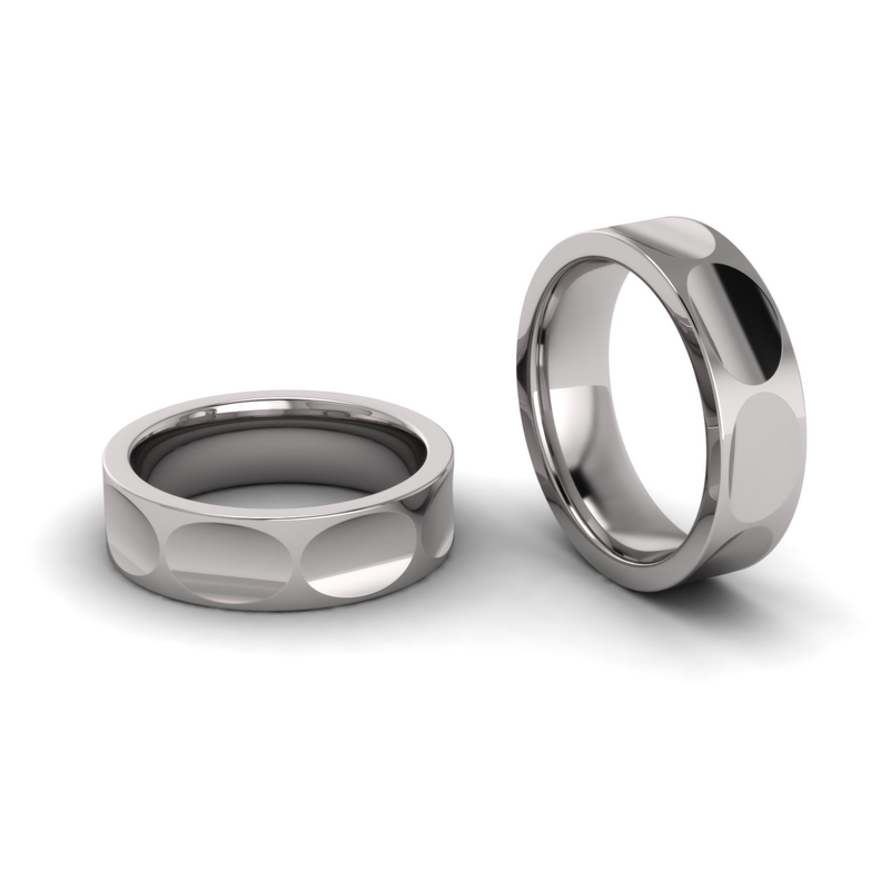 Eight Section Shaped Ring