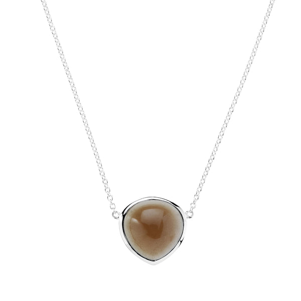 Najo Promenade Necklace (Smoky Quartz)
