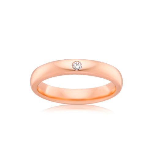 9ct Rose Gold Proposal Ring