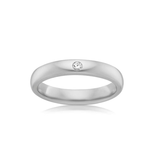 9ct White Gold Proposal Ring