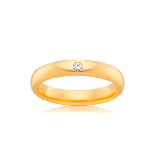 9ct Yellow Gold Proposal Ring