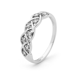 9ct Dreamweaver Diamond Ring