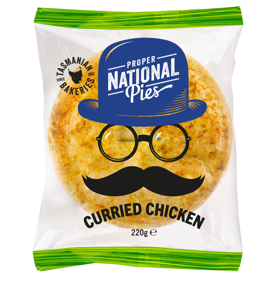 National Pies Curried Chicken Pie 12x220g