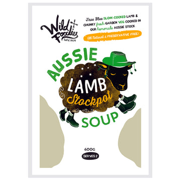 Wild Foodies Aussie Lamb Stockpot Soup  6x600g