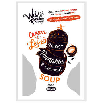 Wild Foodies Pumpkin & Coconut Soup  6x600g