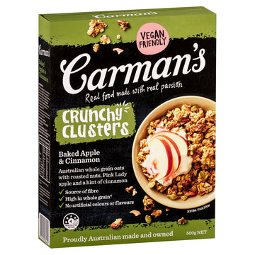 Carman's Baked Apple & Cinnamon Clusters 5x500g
