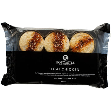 Boscastle Thai Chicken Pie 4x660g