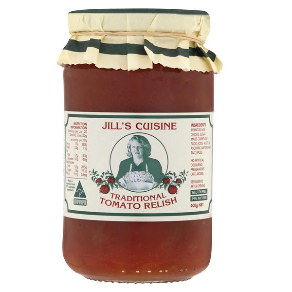 Jill's Cuisine Traditional Tomato Relish - Bellco Group Fine Food Distributers