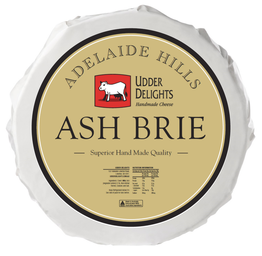 Adelaide Hills Ash Brie 2x1kg