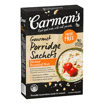 Carman's Honey Roasted Nut Porridge 6x320g