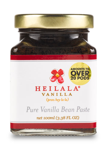 Heilala Vanilla Bean Paste 6x100ml