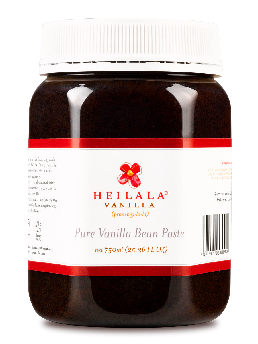 Heilala Vanilla Bean Paste 750ml