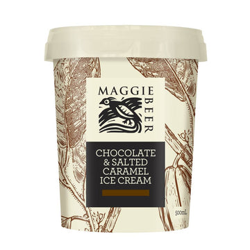 Maggie Beer Chocalate & Salted Caramel Ice Cream - Bellco Group Fine Food Distributers