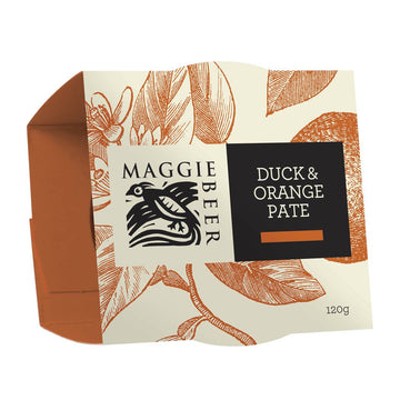 Maggie Beer Duck & Orange Pate - Bellco Group Fine Food Distributers