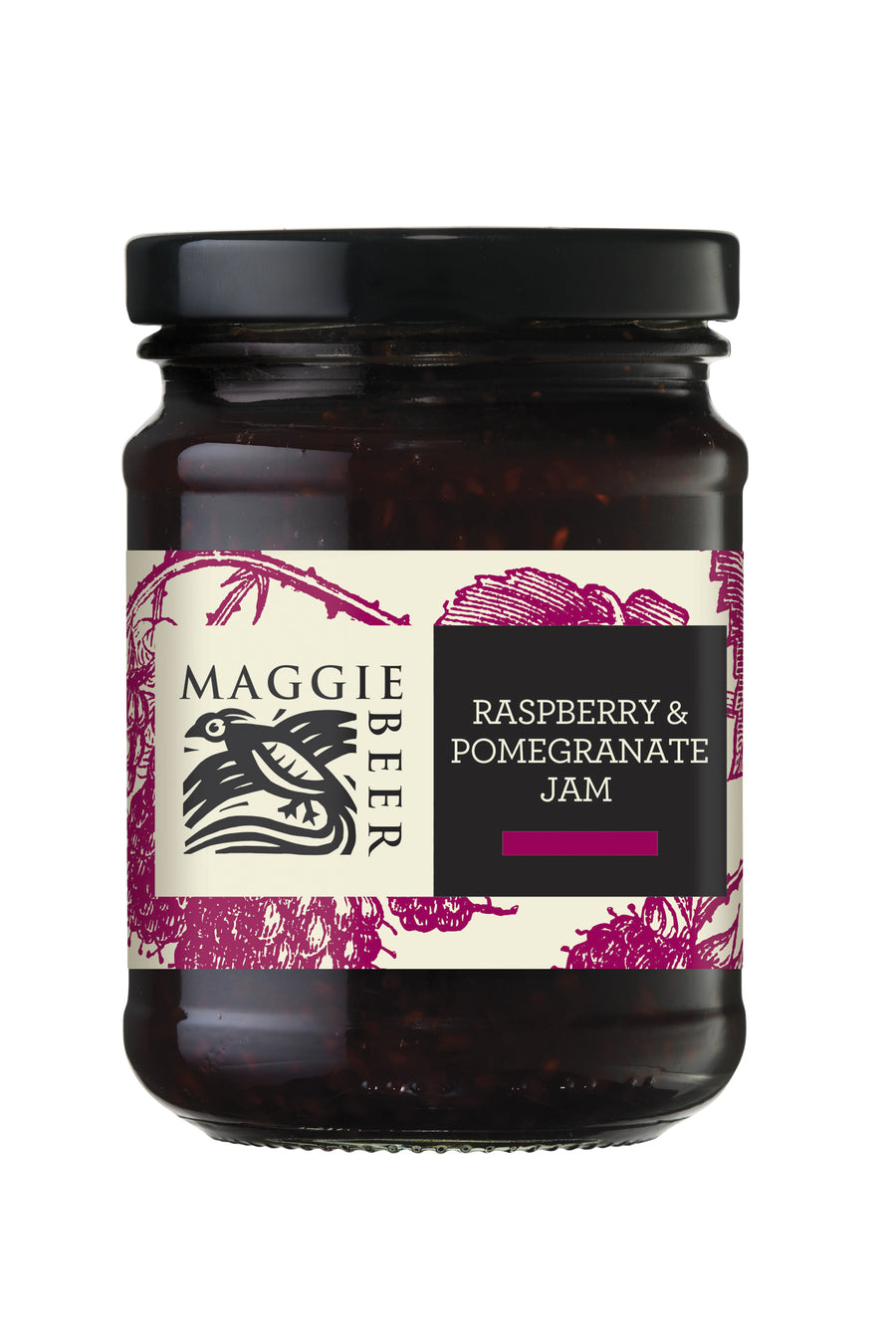 Maggie Beer Raspberry & Pomegranate Jam 6x285g
