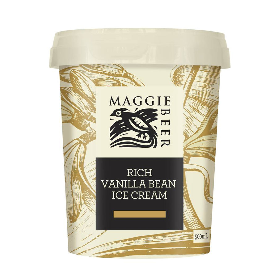 Maggie Beer Rich Vanilla Bean Ice Cream - Bellco Group Fine Food Distributers