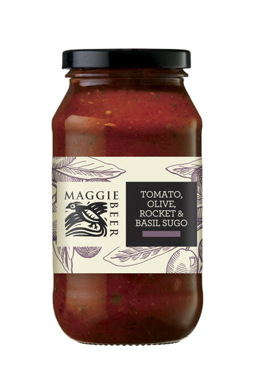 Maggie Beer Tomato, Olive, Rocket & Basil Sugo 6x500ml