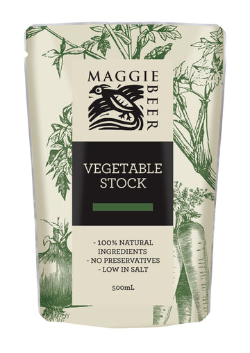 Maggie Beer Vegetable Stock 6x500ml