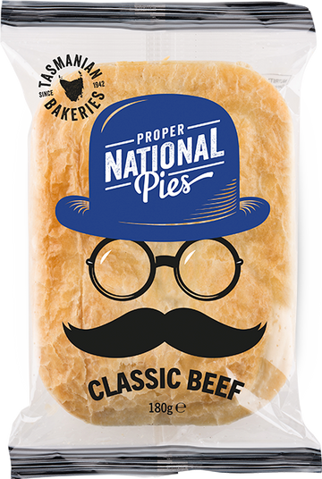 National Pies Classic Beef Pie 16x180g