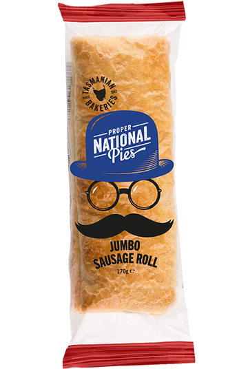 National Pies Jumbo Sausage Roll 20x170g