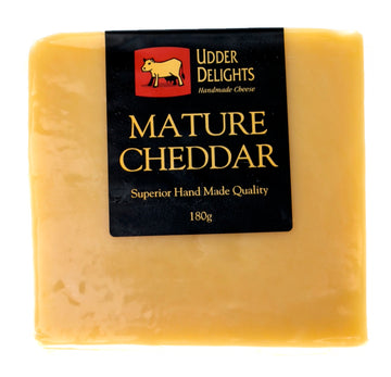 Adelaide Hills Mature Cheddar 8x180g