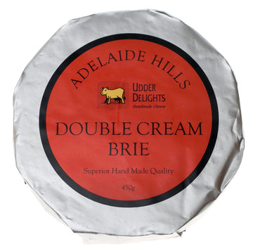 Adelaide Hills Double Cream Brie 450g
