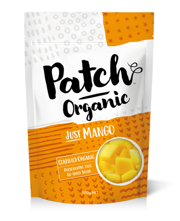 Patch Organic Mango 6x500g