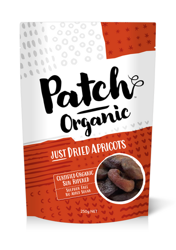Patch Organic Sundried Apricots - Bellco Group Fine Food Distributers