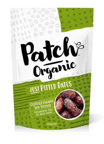 Patch Organic Pitted Dates 6x250g