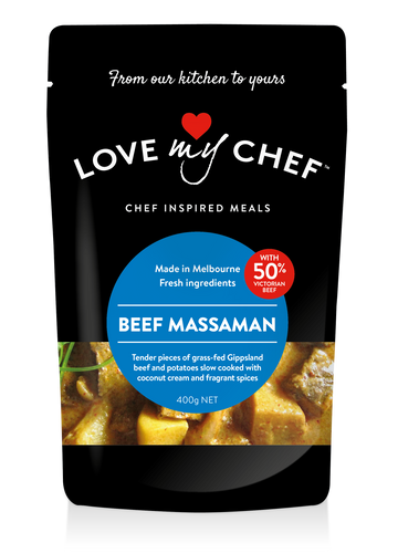 Love My Chef Beef Massaman 6x400g