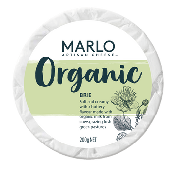 Marlo Organic Brie - Bellco Group Fine Food Distributers