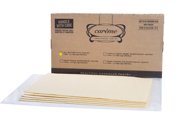Carême Foodservice Butter Puff Pastry Sheets 2.5kg