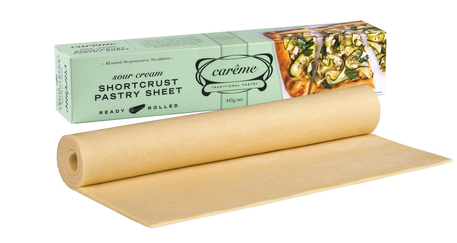 Careme Sour Cream Shortcrust Pastry 12x445g