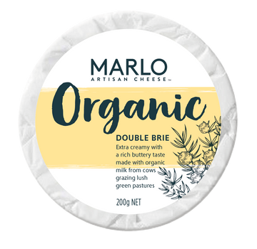Marlo Organic Double Brie 6x200g